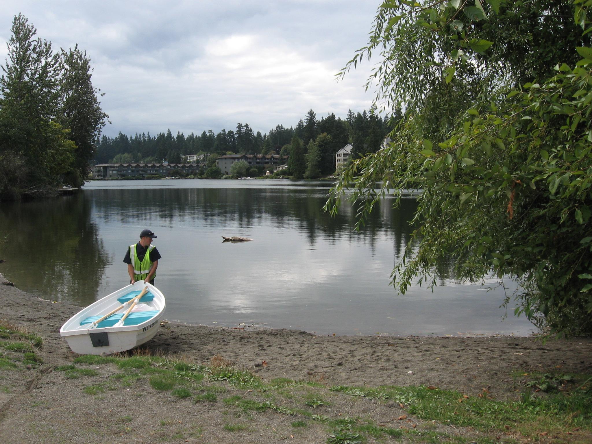 Echo-shoreline Lake