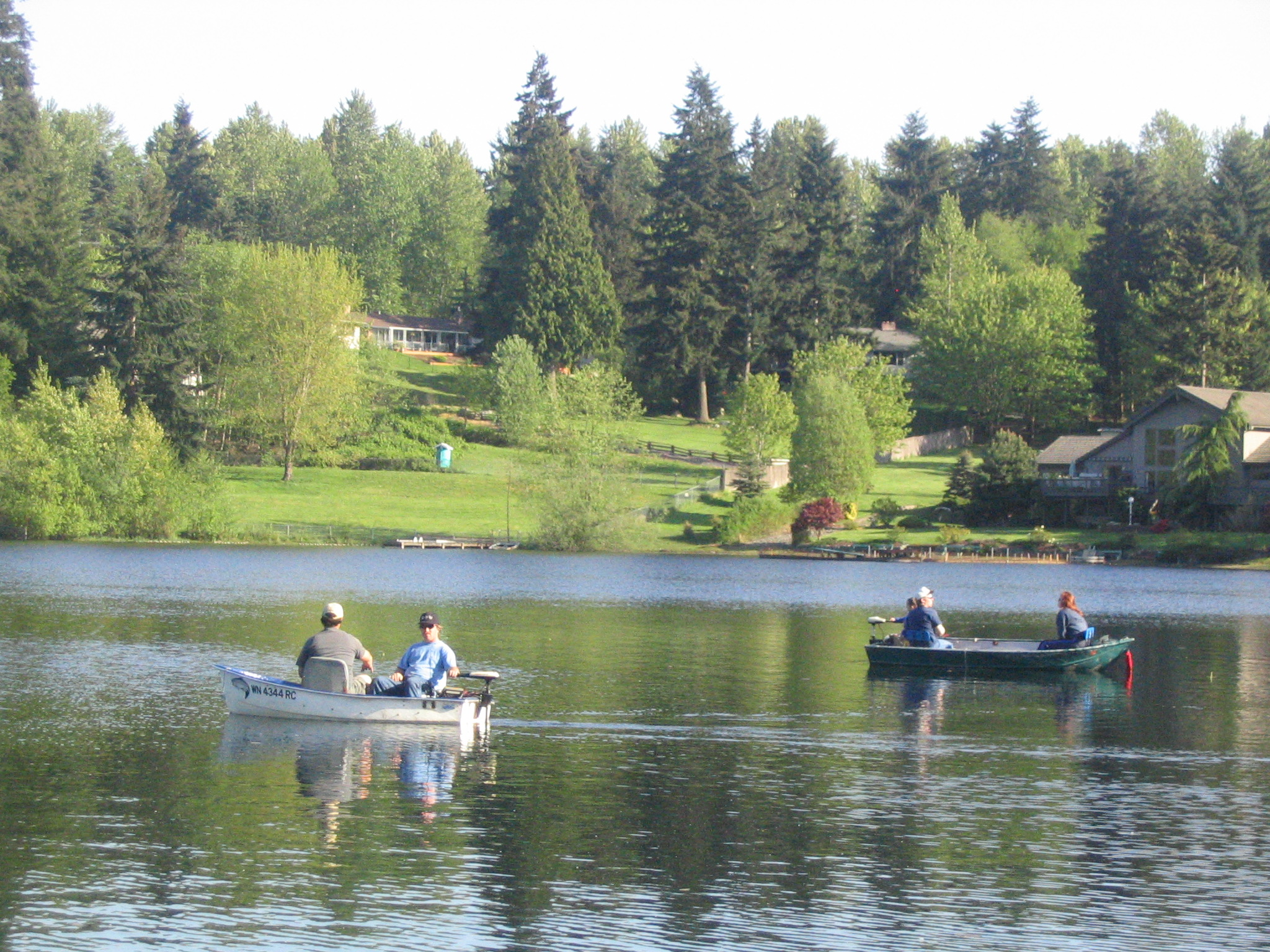 Lake Information Page - King County