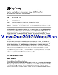 View our 2017 Work Plan